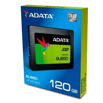 "ADATA 120GB Ultimate SU650 SSD, 2.5"", SATA3"