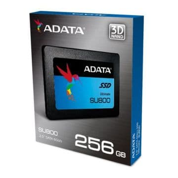 "ADATA 256GB Ultimate SU800 SSD, 2.5"", SATA3, 7mm"