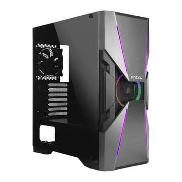 Antec DA601 Dark Avenger Gaming Case with Window, E-ATX