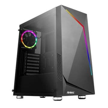 Antec NX300 ATX Gaming Case with Window, No PSU, Tempered Glass