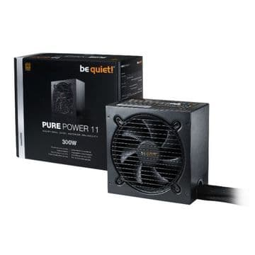 Be Quiet! 300W Pure Power 11 PSU, Fully Wired, Rifle Bearing Fan