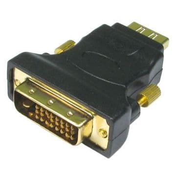 DVI-D Male to HDMI Female Converter Dongle