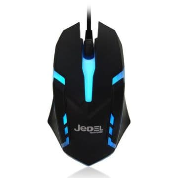 Jedel (M66) Wired Optical Gaming Mouse, 1000 DPI