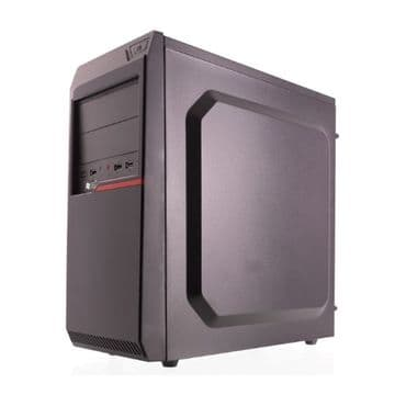 Riotoro CR100BE ATX Case, No PSU, 1 x USB 3.0