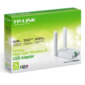 TP-LINK (TL-WN822N) 300Mbps High Gain Wireless USB Adapter