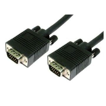 VGA Cable, Male To Male, 2 Metres