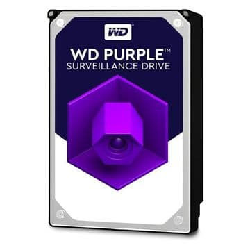 "WD 3.5"", 4TB, SATA3, Purple Surveillance Hard Drive"