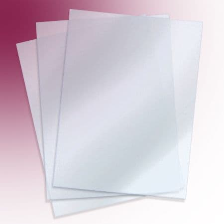 Poster Cover Sheets for Snap Frames: anti-glare PET