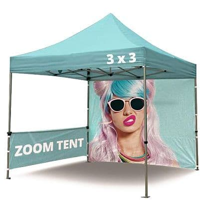 Gazebo Tent 3m x 3m - Branded