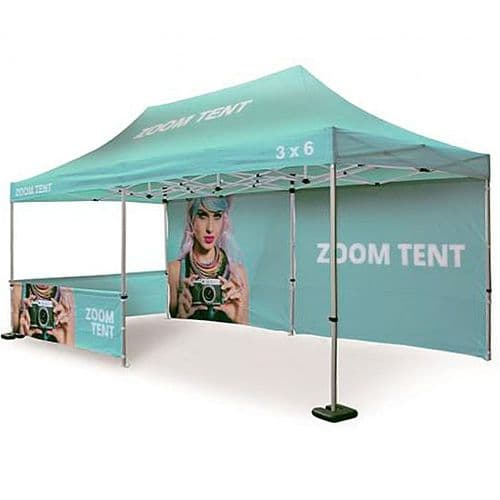 Gazebo Tent 3m x 6m - Branded