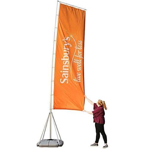 Giant Flying Banner