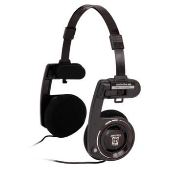 Koss Portapro On Ear High Quality Portable Stereo Headphones Black Beauty