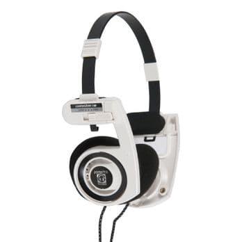 Koss Portapro On Ear High Quality Portable Stereo Headphones White