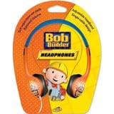 Little Star Bob The Builder Childrens Headphones with reduced volume