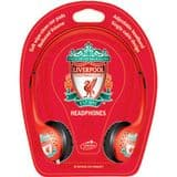 Little Star Liverpool Football Club Childrens Headphones with reduced volume