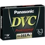 Panasonic Professional AY-DVM63HDE- 5 Pack Mini DV Tapes