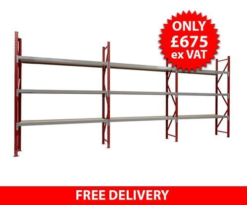 1 Side x 20 Foot Container Racking