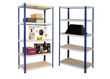 2 Bays of Shelving - 900mm Wide
