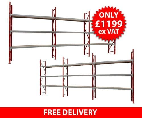 Double Sided 20 foot Container Racking
