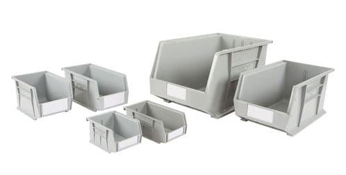 Rhino Tuff Plastic Bins Grey