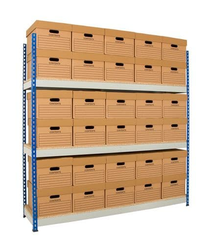 Wide Open Bays - 3 Shelves - 915 mm Wide