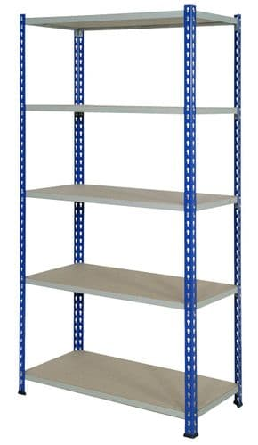 Wide Open Bays - 5 Shelves - 1220 mm Wide