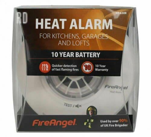 10 Year Heat Alarm - FireAngel HT-630