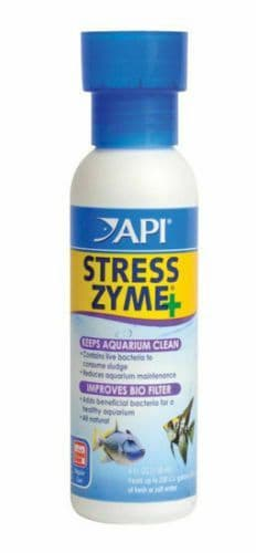 API Stress Zyme 118ml Live Bacteria Filter Booster Maintenance Starter Aquarium