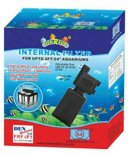 Aquarium High Quality Internal Filter 200L-HR Fish 'R' Fun