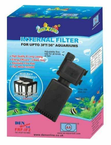 Aquarium High Quality Internal Filter  450L-HR Fish 'R' Fun