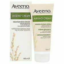 Aveeno Moisturising Cream For Dry & Sensitive Skin 100ml (Eczema)