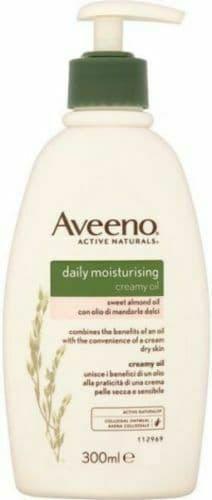 Aveeno Moisturising Creamy Oil with Sweet Almond Oil & Colloidal Oatmeal - 300ml