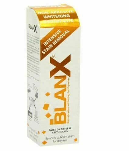 BBlanx Intensive Stain Removal Whitening Toothpaste, 75ml