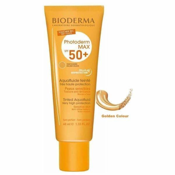Bioderma Photoderm Max SPF50+ Tinted Aquafluid Dore Golden 40ml