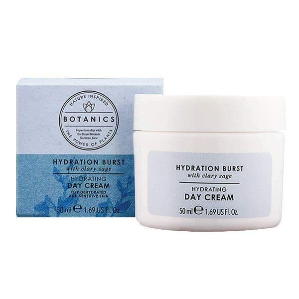Botanics Hydration Burst Day Cream 50ml Brand New Sensitive Skin 50ml