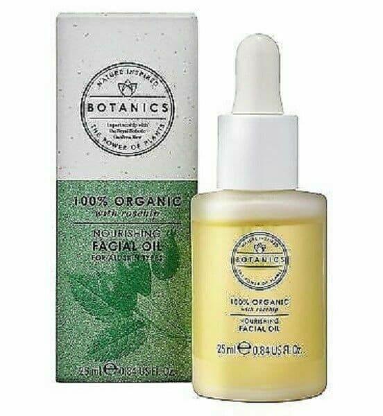 Botanics Organic Facial Oil 100% 25ml.
