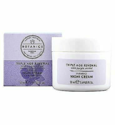 Botanics Triple Age Renewal Night Cream 50ml from Botanics