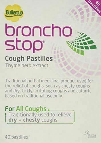 Buttercup Broncho Stop Cough Pastilles 40 Pastilles