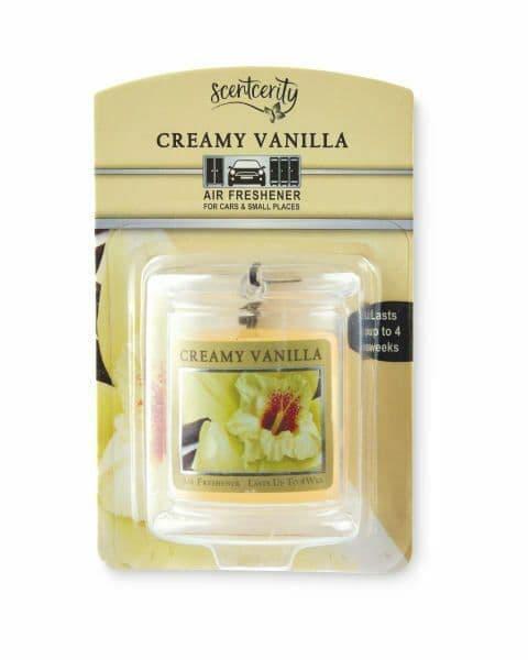 Car Air Freshener Creamy Vanilla
