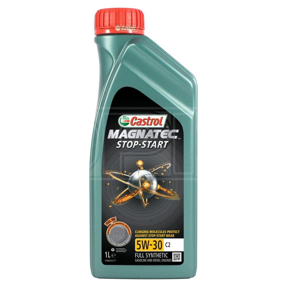 Castrol MAGNATEC Stop-Start 5W-30 5W30 C2 Fully Synthetic Engine Oil 1 Litre 1L