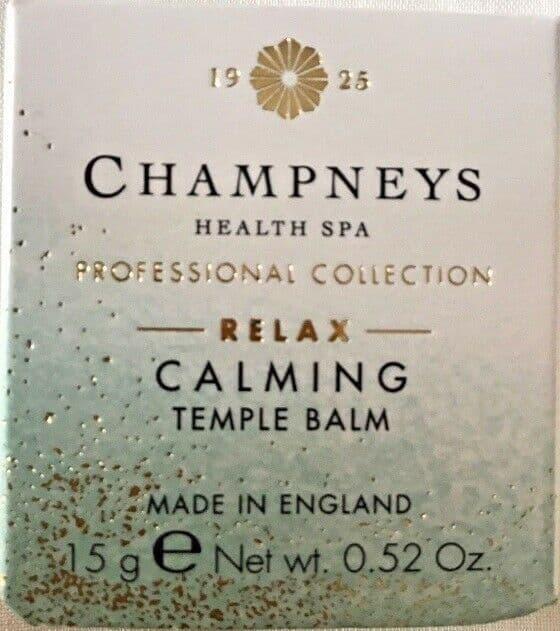 Champneys calming temple Balm NEW