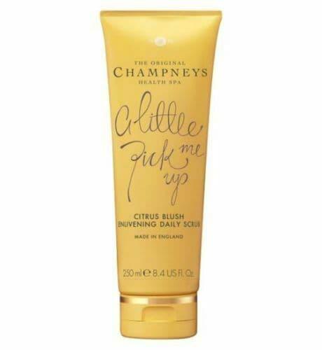 Champneys Daily Scrub Citrus Blush Enlivening 1x250ml Little Pick Me Up NEW