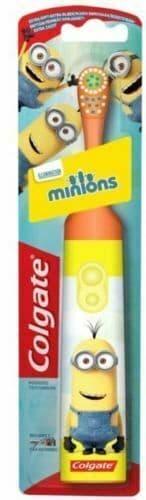 Colgate Minions Battery Powered Kids Children 3+ Years Orange Colour Toothbrush
