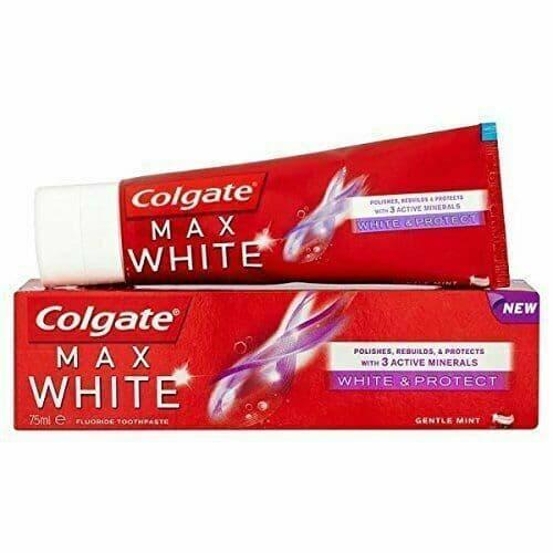 Colgate Toothpaste Max White & Protect 75ml