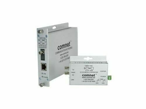 Comnet CNFE1002M1B 1fiber MM ST Connector Small 100Mbps Media Converter (B)