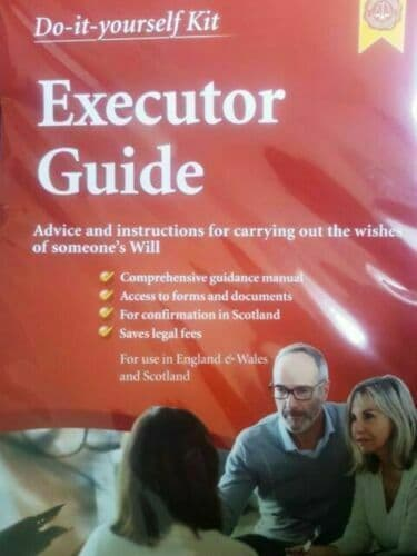 Executor Guide Do It Yourself Kit Lawpack England Wales & Scotland p12