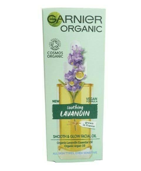 Garnier Organic Soothing Lavandin Smooth And Glow Facial Oil 30 ML
