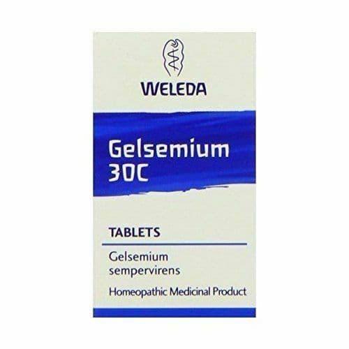 Gelsemium 30 - Colds/Flu HR - 125tabs