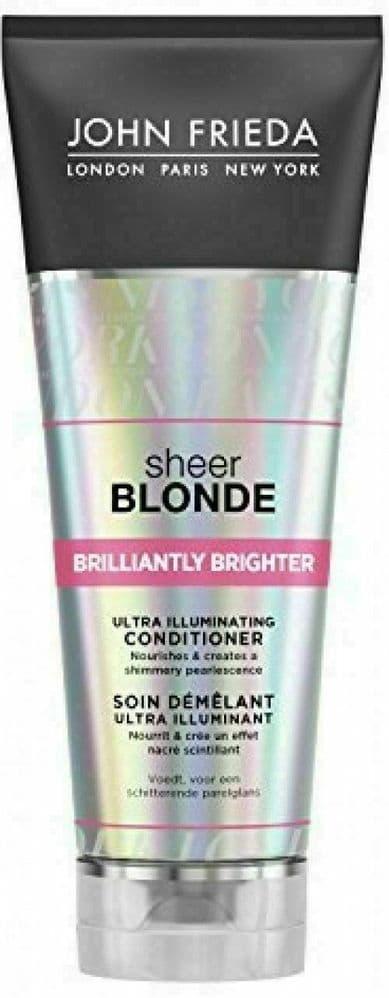 John Frieda Sheer Blonde Brilliantly Brighter Ultra Illuminating Conditioner