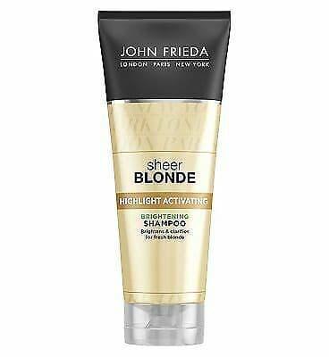 John Frieda Sheer Blonde Highlighting Activating Shampoo